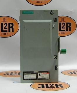SIEMENS- ID361 (30A,600V,FUSIBLE) Product Image